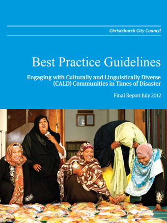 Best Practice Guidelines of Diverse Communities Disaster
