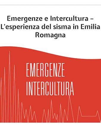 Emergenze e Intercultura – L'esperienza del sisma in Emilia-Romagna nel 2012